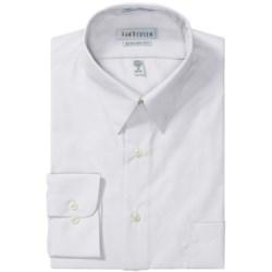 Van Heusen Basics Dress Shirt - Wrinkle-Free Poplin, Long Sleeve (For Men) in White