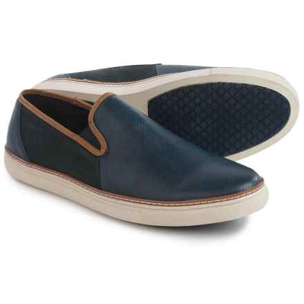 Van Heusen Cup-Full Shoes - Slip-Ons (For Men) in Navy - Closeouts