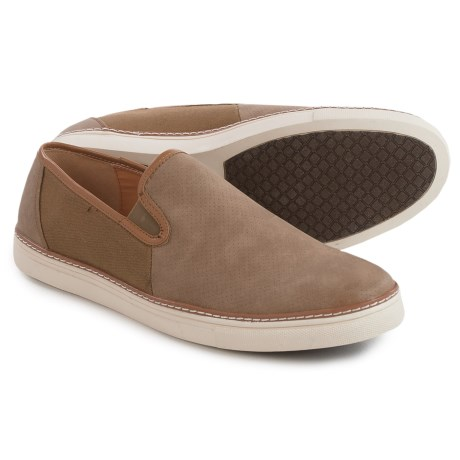 Van Heusen Cup-Full Shoes - Slip-Ons (For Men) in Taupe