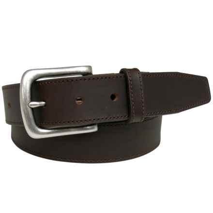 Van Heusen Cut Edge Belt - Leather in Brown - Closeouts