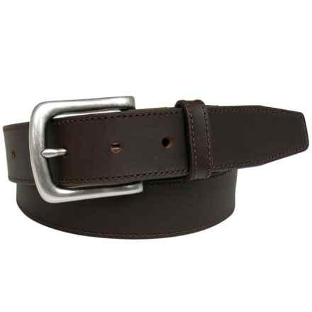 Van Heusen Cut Edge Belt - Leather in Brown - Closeouts