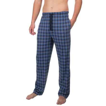 Van Heusen Printed Jersey Sleep Pants (For Men) in Navy - Closeouts