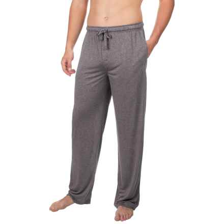 Van Heusen Textured Knit Pants (For Men) in Black - Closeouts