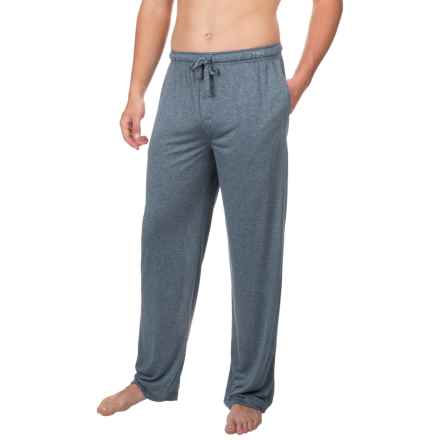 Van Heusen Textured Knit Pants (For Men) in Navy - Closeouts