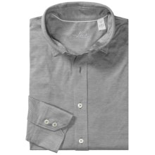 Van Laack Petco Shirt - Long Sleeve (For Men) in Grey - Closeouts