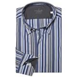 Van Laack Radici Tailored Fit Fashion Shirt - Long Sleeve (For Men)