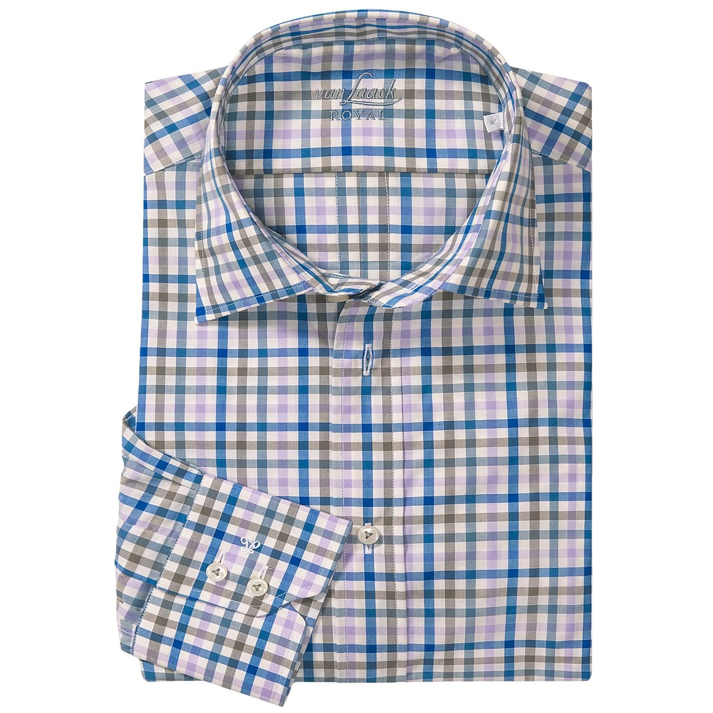 van laack ret shirt spread collar long sleeve for men. Black Bedroom Furniture Sets. Home Design Ideas