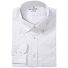 Van Laack Ron Cotton-Nylon Shirt - Button Down, Long Sleeve (For Men) in White - Closeouts
