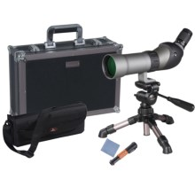 Vanguard Signature Plus 660 Spotting Scope - 15-45x60mm, Waterproof, 45° View in See Photo - Closeouts