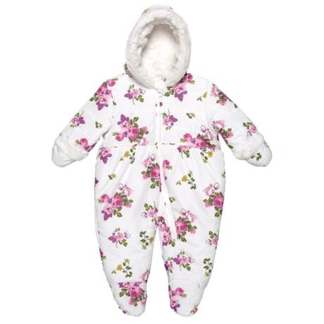 Vanilla Rose Floral Snowsuit (For Infant Girls) (473NC-02-6/9) photo
