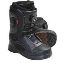Vans Aura Snowboard Boots - BOA® (For Men) in Black - Closeouts