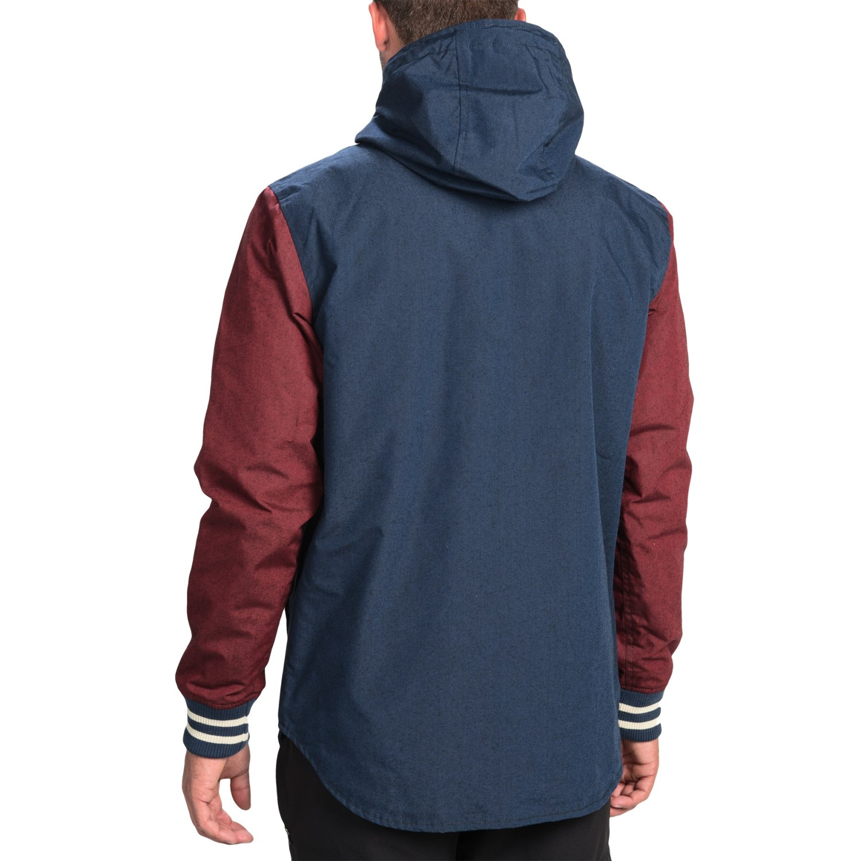 Vans Dixon Mountain Edition Snowboard Jacket (For Men) 9183K - Save 69%