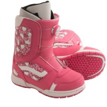 Vans Encore Snowboard Boots - BOA® (For Girls) in Hello Kitty/Pink - Closeouts