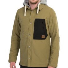 Vans Loreto Snowboard Jacket - Insulated (For Men) in Olive Drab - Closeouts