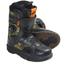 Vans Matlock Snowboard Boots - BOA® (For Men) in Black/Camo - Closeouts