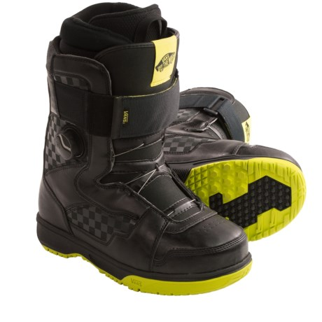Vans Matlock Snowboard Boots - BOA® (For Men) in Black/Green