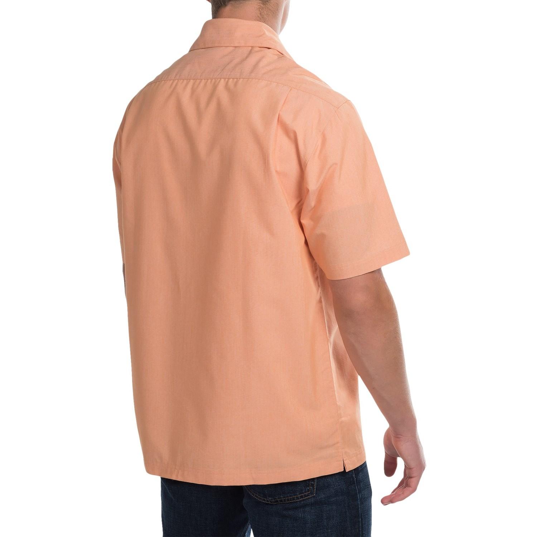 Vantage Single Pocket Camp Shirt For Men Save 62