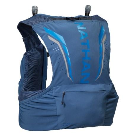 VaporZach 2.5L Hydration Race Vest - 22 oz. (For Men) - TRUE NAVY (M )