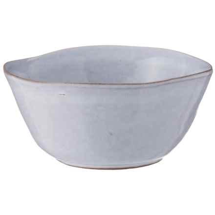"Vasicol VG6 Organic Bowl - 6-1/8"" in Hot White Glaze - Closeouts"
