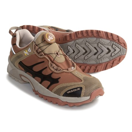 Vasque Aether Tech SS Trail Running Shoes (For Women) in Laurel Oak/Dusty Olive