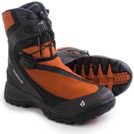 Vasque Arrowhead Snow Boots - Waterproof, Insulated (For Men) in Rooibos Tea/Magnet - Closeouts