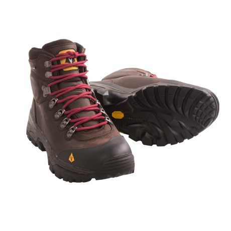 Vasque Bitterroot Gore-Tex® Backpacking Boots - Waterproof (For Men) in Slate Brown/Chili Pepper