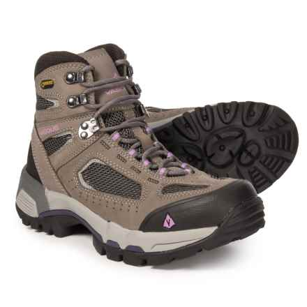 Vasque Breeze 2.0 Gore-Tex® Hiking Boots - Waterproof (For Women) in Gargoyle/African Violet - Closeouts
