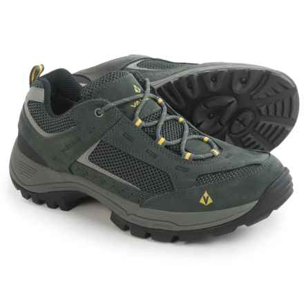 Vasque Breeze 2.0 Gore-Tex® Low Hiking Shoes - Waterproof (For Men) in Castlerock/Solar Power - Closeouts