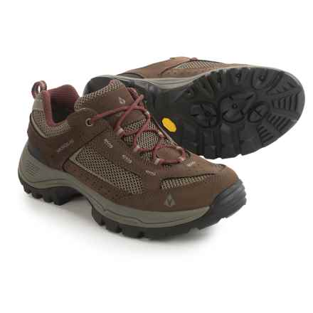 Vasque Breeze 2.0 Gore-Tex® Low Hiking Shoes - Waterproof (For Women) in Brown/Red - Closeouts