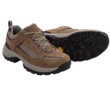 Vasque Breeze 2.0 Low Trail Shoes - Nubuck (For Women) in Brindle/Purple - Closeouts