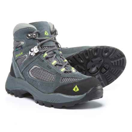 Vasque Breeze 2.0 UltraDry Hiking Boots - Waterproof (For Little and Big Kids) in Castlerock/Tender Shoots - Closeouts