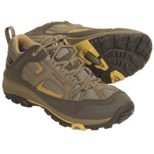 Vasque Breeze Low VST Gore-Tex® Trail Shoes - Waterproof (For Women) in Tarmac/Oil Yellow - Closeouts
