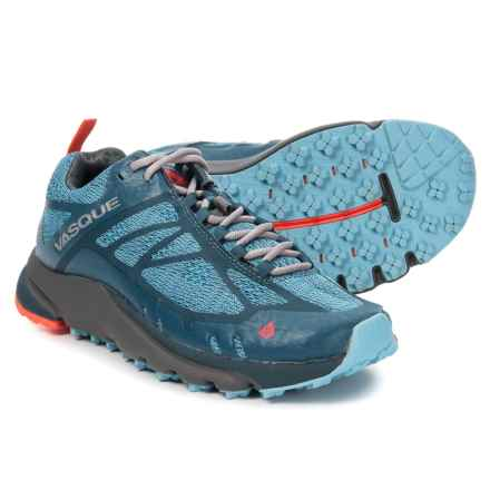 Vasque Constant Velocity II Trail Running Shoes (For Women) in Alaskan Blue/Majolica Blue - Closeouts