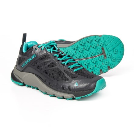 60a08513c0cce Vasque Constant Velocity II Trail Running Shoes (For Women) in Ebony Baltic  -