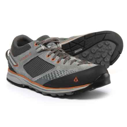 Vasque Grand Traverse Trail Shoes (For Men) in Gargoyle/Rust - Closeouts