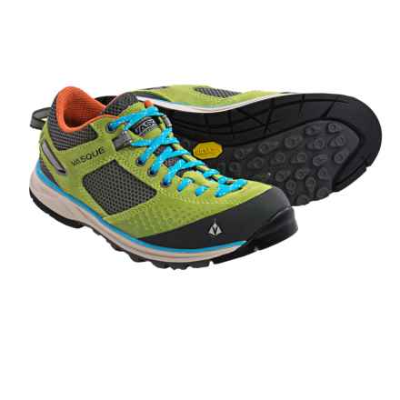 Vasque Grand Traverse Trail Shoes (For Women) in Green/Blue - Closeouts