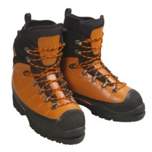 Vasque Ice 9000 Mountaineering Boots (For Men) in Orange / Black - Closeouts