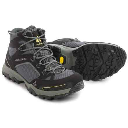 Vasque Inhaler Gore-Tex® Hiking Boots - Waterproof (For Men) in Black/Yellow - Closeouts