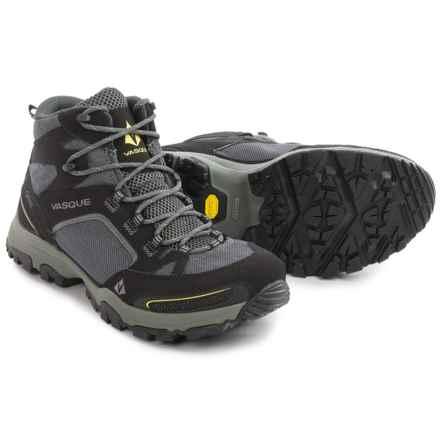 Vasque Inhaler Gore-Tex® Hiking Boots - Waterproof (For Men) in Black/Yellow - Closeouts
