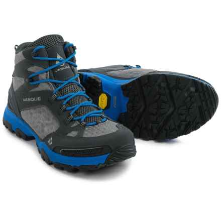Vasque Inhaler Gore-Tex® Hiking Boots - Waterproof (For Men) in Magnet/Blue - Closeouts