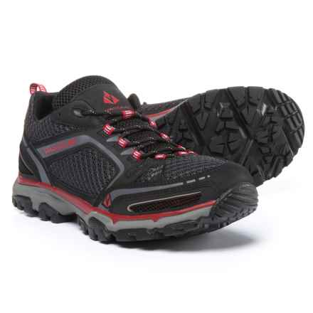 Vasque Inhaler II Low Hiking Shoes (For Men) in Black/Chili Pepper - Closeouts