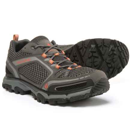 Vasque Inhaler II Low Hiking Shoes (For Men) in Magnet/Rust - Closeouts