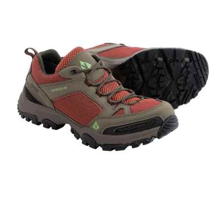 Vasque Inhaler Low Gore-Tex® Trail Shoes - Waterproof (For Women) in Bungee/Marsala - Closeouts