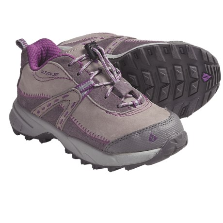 Vasque Jule Trail Shoes (For Kids and Youth) in Paloma/Byzantium