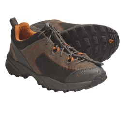 Vasque Juxt Trail Shoes (For Kids and Youth) in Peat/Sudan Brown