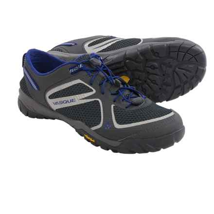 Vasque Lotic Water Shoes (For Men) in Magnet/Sodalite Blue - Closeouts