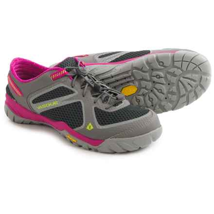 Vasque Lotic Water Shoes (For Women) in Gargoyle/Raspberry Rose - Closeouts