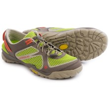 Vasque Lotic Water Shoes (For Women) in Lime Green/Hot Coral - Closeouts