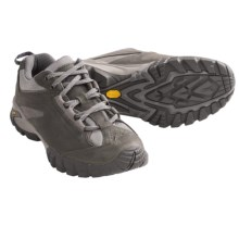 Vasque Mantra 2.0 Low Trail Shoes - Nubuck (For Women) in Beluga/Purple Plumeria - Closeouts