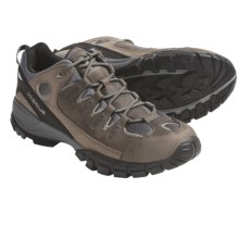 Vasque Mantra Trail Shoes - Leather (For Men) in Graphite/Grey - Closeouts
